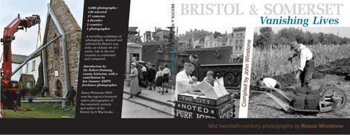 Bristol and Somerset  																	Vanishing Lives book cover